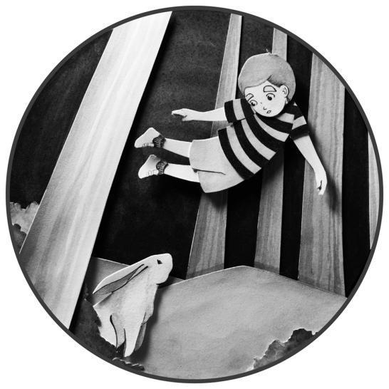 Illustration inspired by Hannah Sternberg's Otherworldies