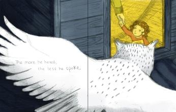 Elizabeth Goss - The more he heard the less he spoke