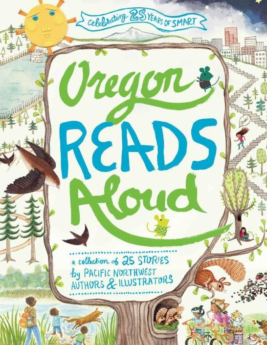 SMART, Oregon Reads Aloud, Cover Design Credit:Melissa Delzio,Coming Soon!