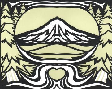 Elizabeth Goss, To Mt. Hood with Love