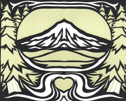 Elizabeth Goss, To Mt. Hood with Love