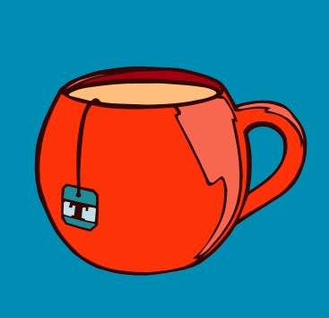 Elizabeth Goss, T cup red
