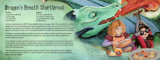 Elizabeth Goss, Dragon's Breath, Featured onhttp://www.theydrawandcook.com