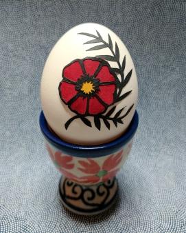 Elizabeth Goss, Scherenschnitte Flower Egg
