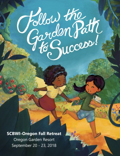 Elizabeth Goss, Illustration for SCBWI Oregon